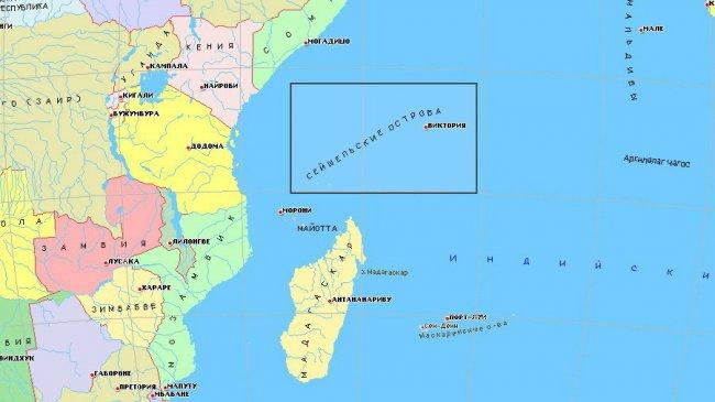 Океанская рыбалка на Сейшелах