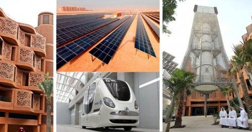 В Эмиратах достраивают главный город будущего (27фото+1видео)