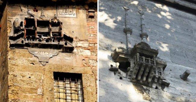 Милая традиция строгой Османской империи: стройку замков для птиц(6фото)