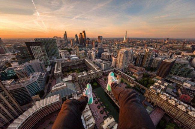 Руфер показал виды на Лондон с различных крыш(15 фото)