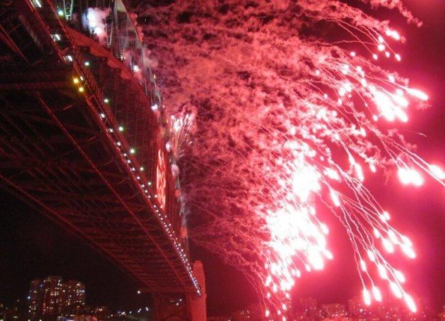 Австралия. Новогодний фейерверк над Сиднейской бухтой(22фото)
