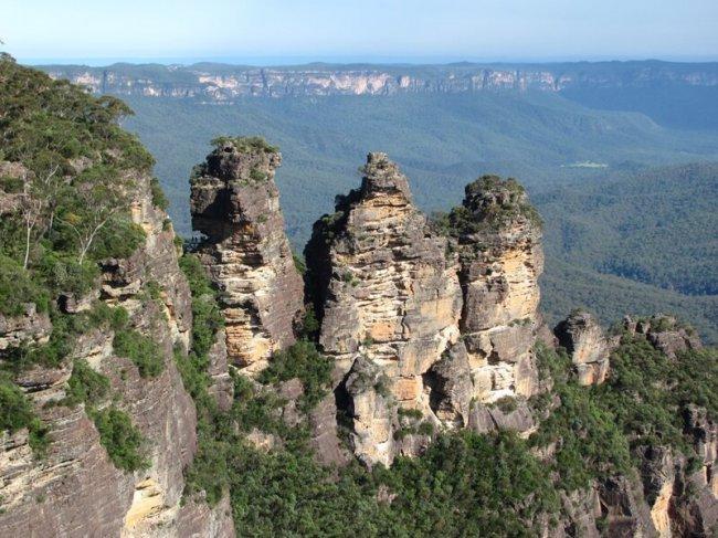 Австралия. Однодневная поездка из Сиднея. Голубые горы. Пещеры Дженолан(45фото)