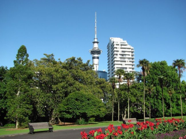Окленд - наикрупнейший город Новейшей Зеландии(51фото)