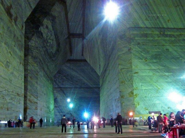 Соляная шахта Прахова(13фото)